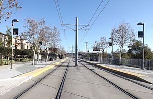 Fenton Parkway station - Image: San diego trolley fenton parkway station