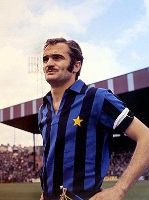 "Inter Milan - Sandro Mazzola played for the highly successful Inter team remembered by the name of ""La Grande Inter"", during the 60s"