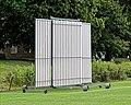 Sandwich Town CC cricket sight screen at Sandwich, Kent, England 02.jpg