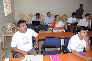 Sanskrit Wiki workshop participants 2015.JPG