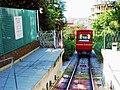 Sant'Anna funicular at Via Bertani station - Genoa.jpg