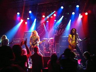 Santa Cruz (band) - Image: Santa Cruz (band) at tavastia 20121109 2121