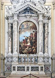 Santa Giustina (Padua) - Chapel of St. Gregory the Great
