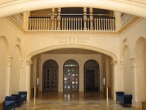 Sarasota Opera House - Original 3-story theatre atrium is revealed after renovations in 2007/08