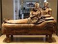 Sarcofago degli sposi, produzione etrusca di influenza ionica, 530-520 ac ca., dalla banditaccia 01.jpg