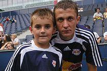 Sasa Ilic and Fan.JPG