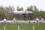 Sasovo Civil Aviation Flight School Yakovlev Yak-18T Dvurekov-1.jpg