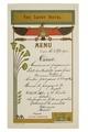 Savoy Hotels meny från år 1900 - Hallwylska museet - 100667.tif