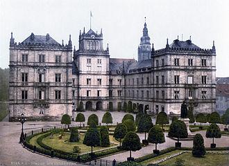 Ehrenburg Palace - Ehrenburg Palace around 1900