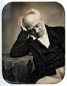 Photo of Schopenhauer, 1852