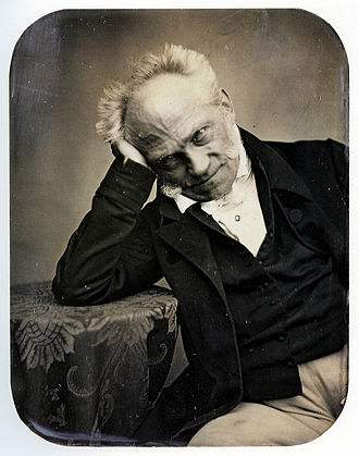 Arthur Schopenhauer - Photo of Schopenhauer, 1852