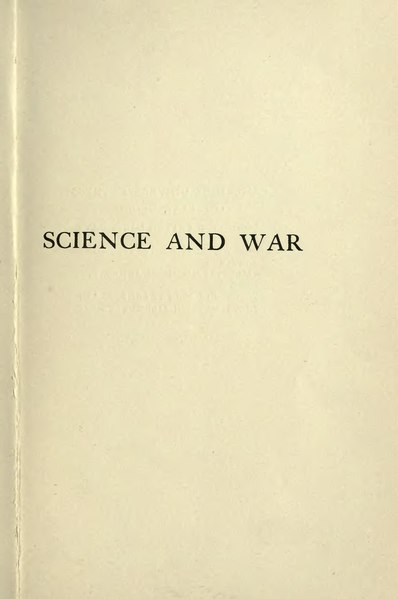 File:Science and War.djvu