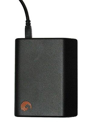 Seagate FreeAgent® Go external hard disk drive...