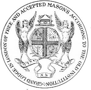 Antient Grand Lodge of England - Image: Seal of the Antient Grand Lodge of England