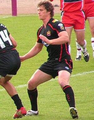 Sean O'Loughlin - O'Loughlin playing for Wigan in 2007