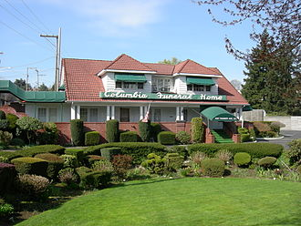 Funeral home - Columbia Funeral Home in Seattle, Washington