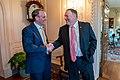 Secretary Pompeo Meets With United Kingdom Foreign Secretary Raab (48481856381).jpg