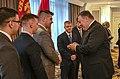 Secretary Pompeo with Marine Security Guards from U.S. Embassy Malaysia (42910660665).jpg