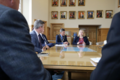 Secretary of State Karen Bradley MP meets with civic leaders in Londonderry (43085209194).png