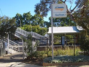 Sefton, New South Wales - Sefton Railway Station