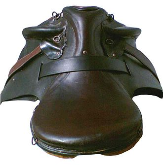 Australian Stock Saddle - Top view