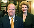 Senator Stabenow meets with Harold Chase of NFS International. (13404439643).jpg