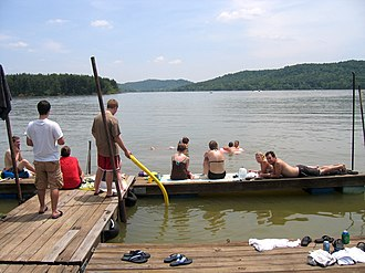 Senecaville Lake - Recreation is one of the lake's many uses.