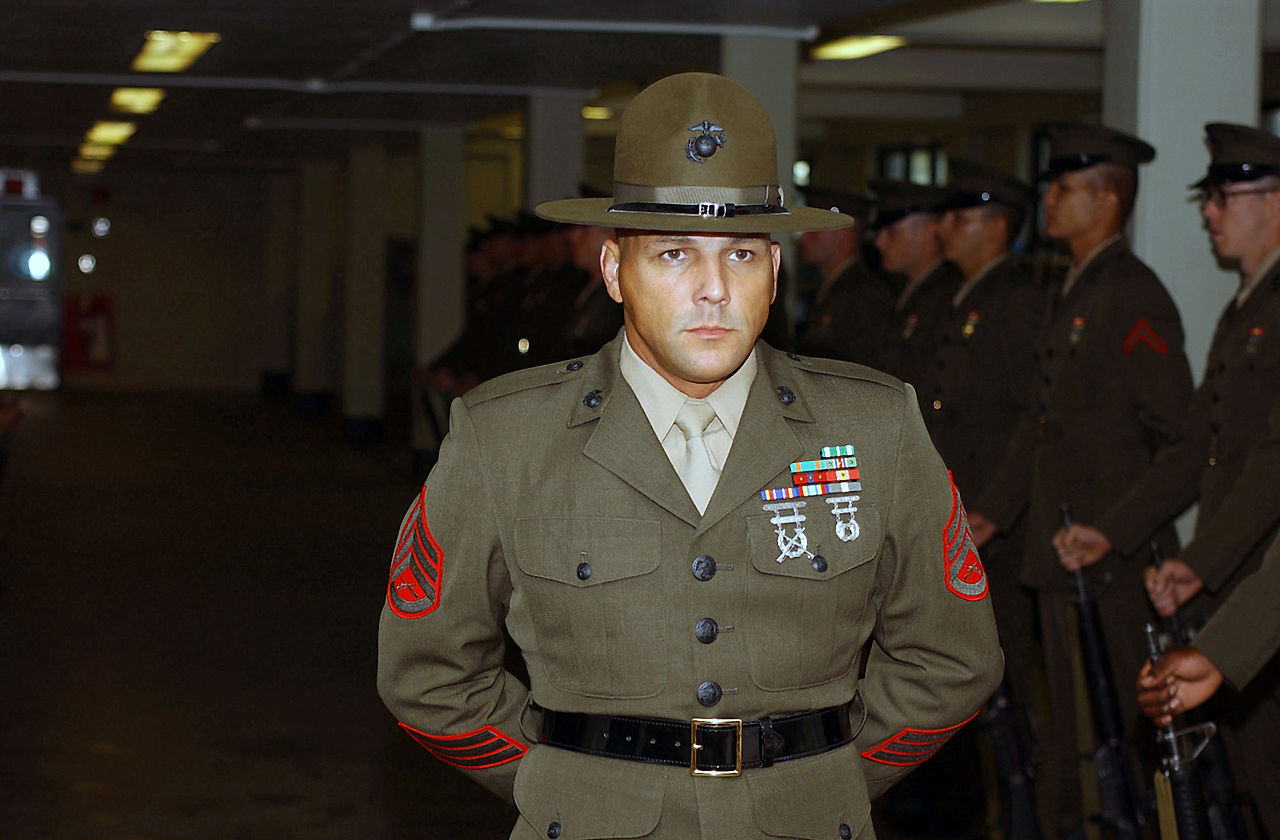Usmc drill instructor cover