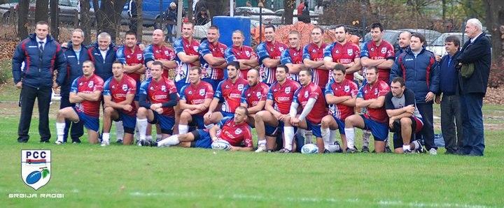 Serbia Rugby Team 2010