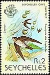 Seychelles swiftlet 1979 stamp.jpg