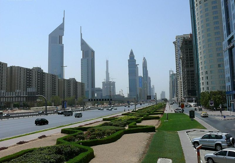 Sheikh Zayed Road on 14 September 2007.jpg