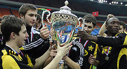 Sheriff Tiraspol won de beker in 2009
