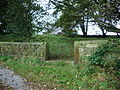 Shewbread, Quaker Burial Ground, c1668, Gate - geograph.org.uk - 1013106.jpg