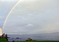 ShipApproachingGreencastleLoughFoyle 2004 SeanMcClean.jpg