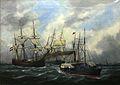 Ships entering Le Havre-Edouard Adam-MnM 21 OA 11-IMG 6297.JPG