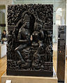 Shiva and Parvati sculpture display.jpg