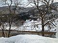Shogawa River from Gassho-zukuri Minkaen Garden 20150121-3.JPG