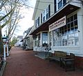 Shops and sidewalk and lamps in Basking Ridge New Jersey.JPG