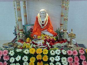 Mahavatar Babaji - Statue of shri Mahavatar Babaji at Babajisannidhan, Bangalore, India