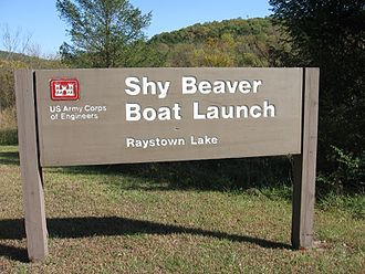 Raystown Lake - Shy Beaver Boat Launch at Raystown Lake