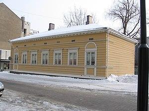 Geburtshaus von Jean Sibelius; birthplace of J...