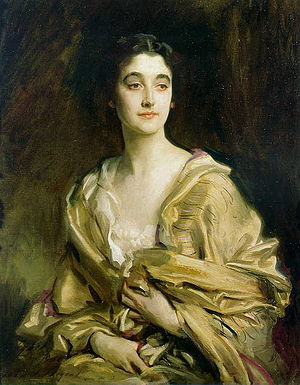 Sybil Cholmondeley, Marchioness of Cholmondeley - Sybil Sassoon, Countess of Rocksavage by John Singer Sargent, oil on canvas, 1913