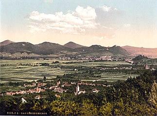 Siebengebirge 1900