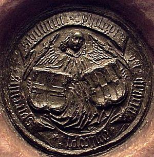 Philip I of Rosenberg - Image: Siegel Philipp von Rosenberg JS