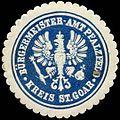 Siegelmarke Bürgermeister-Amt Pfalzfeld Kreis St. Goar W0310511.jpg
