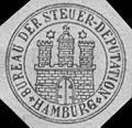 Siegelmarke Bureau der Steuer - Deputation - Hamburg W0218134.jpg