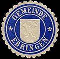 Siegelmarke Gemeinde Ebringen W0310580.jpg