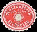 Siegelmarke Gemeinderath der Stadt Sternberg W0319885.jpg