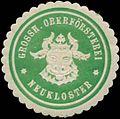 Siegelmarke Grossh. Oberförsterei Neukloster W0344489.jpg