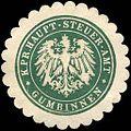 Siegelmarke Königlich Preussische Haupt - Steuer - Amt - Gumbinnen W0215224.jpg